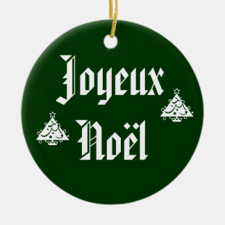 Joyeux Noel Ornament