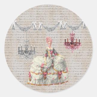 Joyeux Noel Palace de Versailles ~Marie Antoinette Stickers