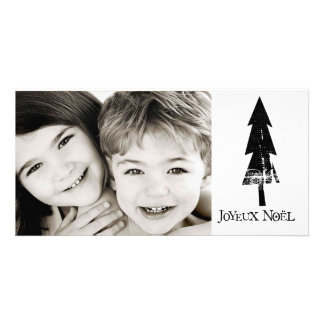 joyeux noel photo card