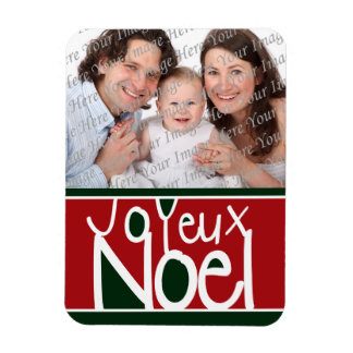 Joyeux Noel Photo Magnet