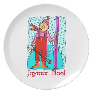 Joyeux Noel Plate