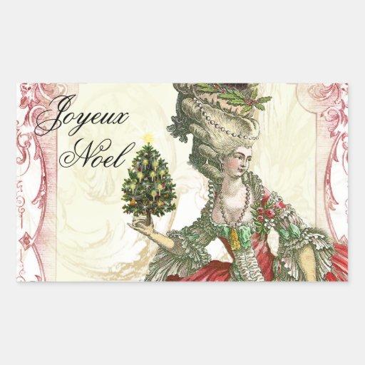 Joyeux Noel Rectangular Altavoces