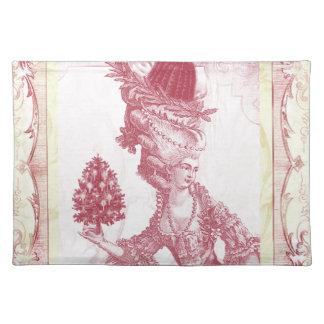 Joyeux Noel (rouge) Cloth Placemat