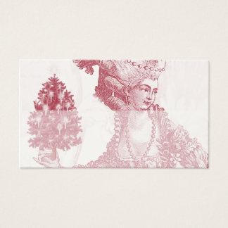 Joyeux Noel (Rouge)  Ivory Place Card