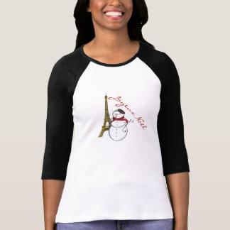 Joyeux Noël Snowman T-Shirt