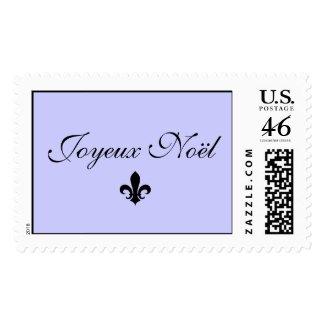 Joyeux Noël stamp stamp