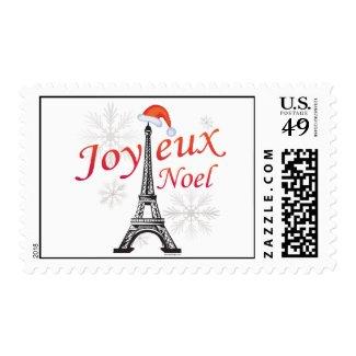 Joyeux Noel Stamps