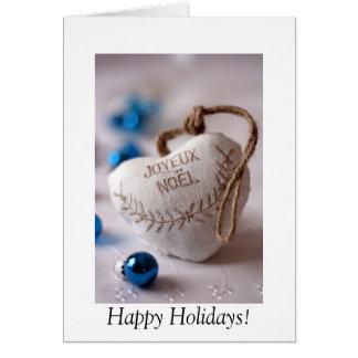 Joyeux Noel Tarjeta