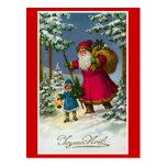""" Joyeux Noel"" Vintage French Christmas Post Card"