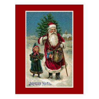 """Joyeux Noel"" Vintage French Christmas Post Cards"
