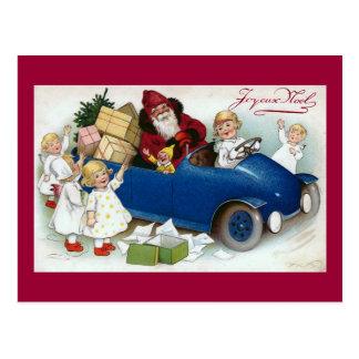 """Joyeux Noel"" Vintage French Post Cards"