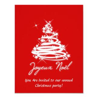 Joyeux Noël with Christmas Tree Card