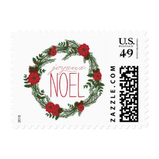Joyeux Noel Wreath Stamp