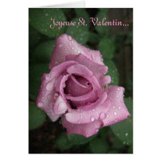 Joyeux St. Valentin Card