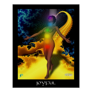 Joyful (16 by 20) poster