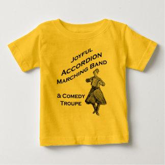 Joyful Accordion Marching Band Baby T-Shirt