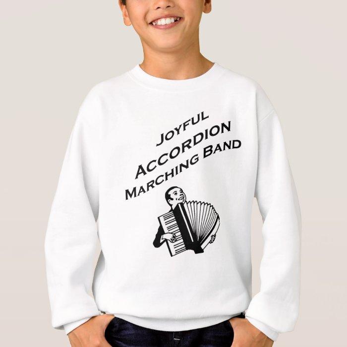 Joyful Accordion Marching Band Sweatshirt