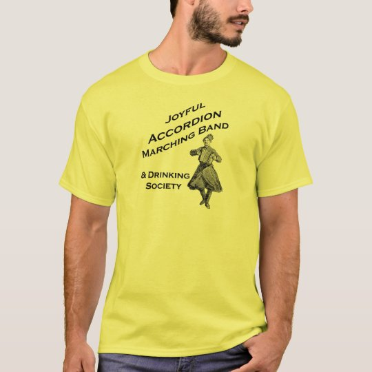 Joyful Accordion Marching Band T-Shirt