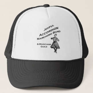 Joyful Accordion Marching Band Trucker Hat