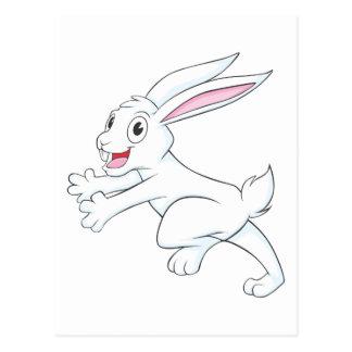 Joyful Arctic Hare Postcard