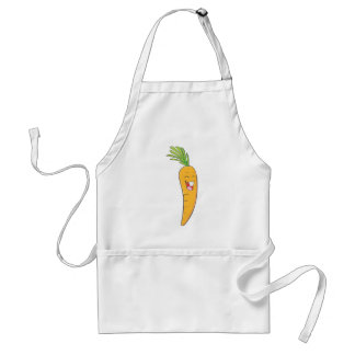 Joyful Asian Carrot Vegetable Adult Apron