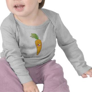 Joyful Asian Carrot Vegetable Tee Shirts