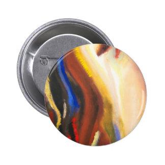 Joyful Awakening ( abstract spiritual symbolism ) Pinback Button