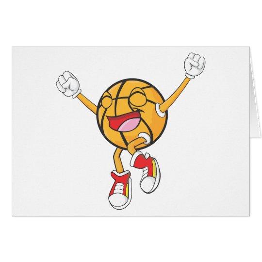 Joyful Basketball Champion Card