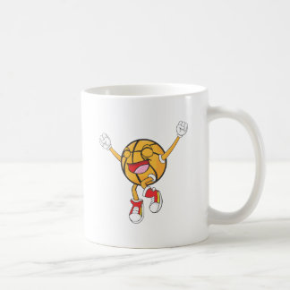 Joyful Basketball Champion Classic White Coffee Mug