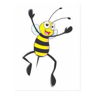 Joyful Bee Postcard