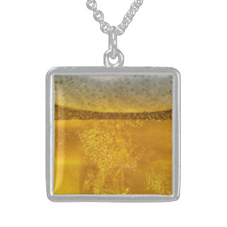 Joyful Beer Galaxy a Celestial Quenching Sterling Silver Necklace