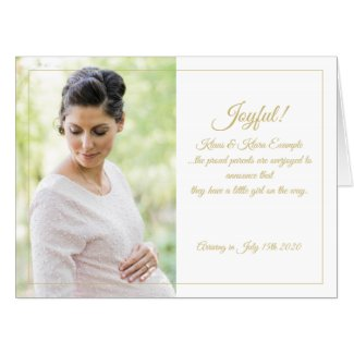 Joyful! - Big Expectations Card