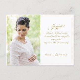 Joyful! - Big Expectations Holiday Postcard