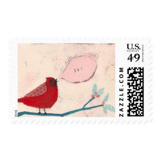 Joyful Bird Postage