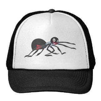 Joyful Black Widow Spider Mesh Hats