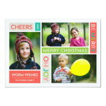 Joyful & Bright Holiday Photo Card