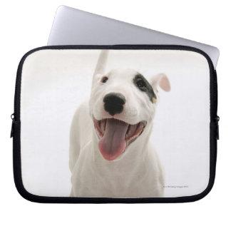 Joyful Bull terrier Computer Sleeve