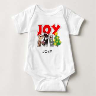 Joyful Cats Baby Bodysuit