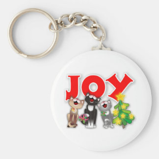 Joyful Cats Keychains