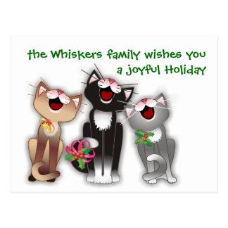 Joyful Cats Post Card