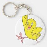 Joyful Chick Baby Chicken Key Chains