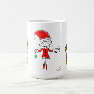 Joyful Christmas Friends Coffee Mug