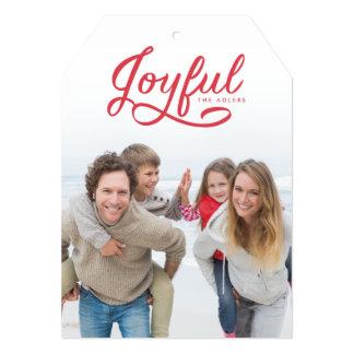 Joyful Christmas Photo Card