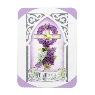 Joyful Easter Custom Photo Magnet