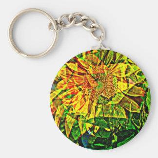 Joyful flower keychain