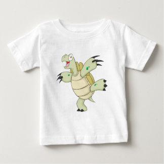 Joyful Galapagos Tortoise Baby T-Shirt