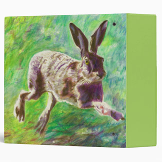 Joyful hare 2011 3 ring binder