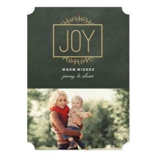 Joyful Holiday | 5x7 Paper Holiday Invitation