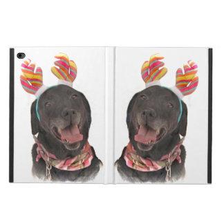 Joyful Holiday Black Labrador Retriever Dogs Powis iPad Air 2 Case