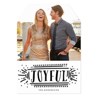 Joyful! | Holiday Photo Card